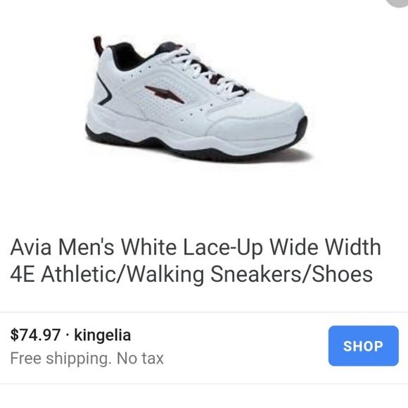 Wide Width Athletic Walking Shoe Sz